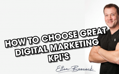 How to choose great Digital Marketing KPI's